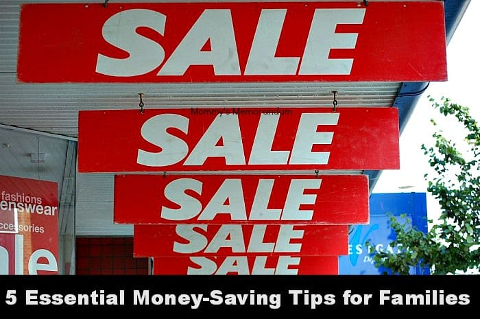 5 Essential Money-Saving Tips for Families