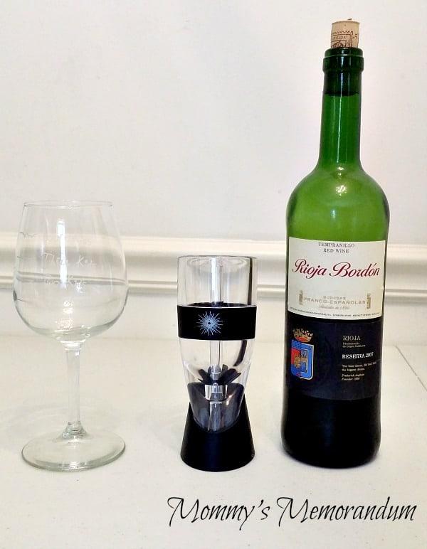 Andre Lorent's VinLuxe Wine Aerator