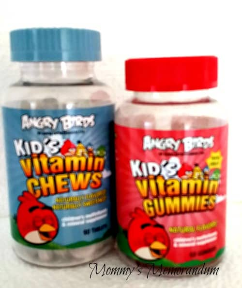 Angry Birds Vitamins and Chews