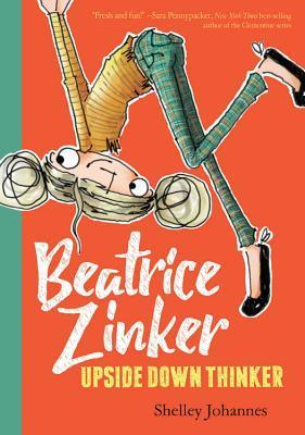 """Beatrice Zinker has always been different. She loves thinking upside-down. Her family is a right-side-up kind of family, so it isn't easy being Beatrice. She climbed out of her first box (crib) as soon as she was able, said """"Wow"""" for her first word, and asked """"What if...?"""" instead of learning her ABCs and 123s. But in second grade, she won an award: Beatrice Zinker, Best Upside-Down Thinker. There was no telling what she could do after that! But """"it's hard being cofounder of a top-secret organization, the work was never done."""" She is an optimist and is convinced her best friend Lenny will join her in her ninja spying ways even though the other girls have decided playing veterinarian is a better recess option. Full of spunk, humor, and great illustrations, this will be a book I will want on the shelf as soon as it comes out. It's fantastic! <a href="""