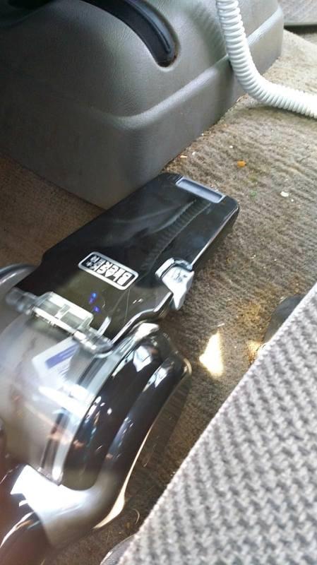 Black + Decker hand-held vacuum