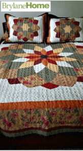 Welcome Fall with Brylane Home's Virginia Quilt