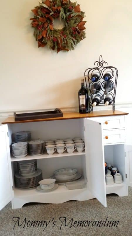 BrylaneHomes Country Kitchen Buffet Casual Elegance Mommys