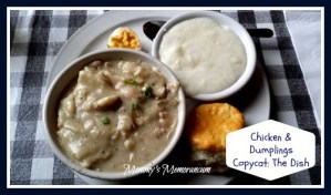 The Dish CopyCat Chicken and Dumplings #Recipe