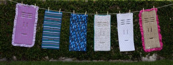cush n' go clothesline print