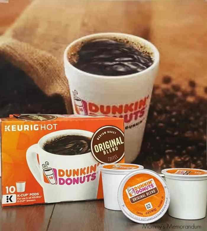 dunkin' donuts coffee k-cups