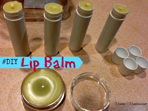 #DIY Lip Balm Mommy's Memorndum
