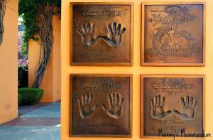 Among the Hands of Disney Legends: Disney Legends Plaza #McFarlandUSAEvent