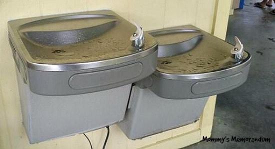 #EMERALDPOINTEFUN REFRIGERATED WATER FOUNTAINS