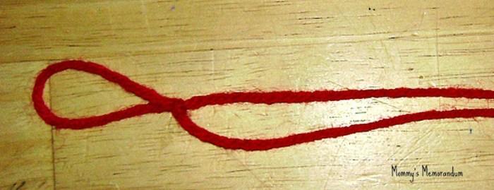 Easy #DIY Ghiradelli Advent yarn