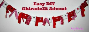 Tutorial: Ghirardelli Advent