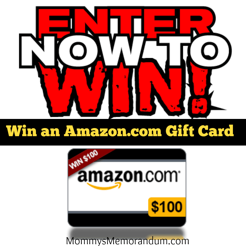 Enter to win a $100 amazon gc