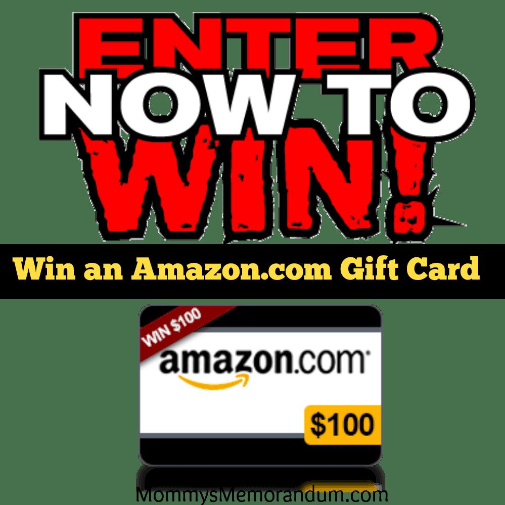 Enter to win a $100 amazon gc