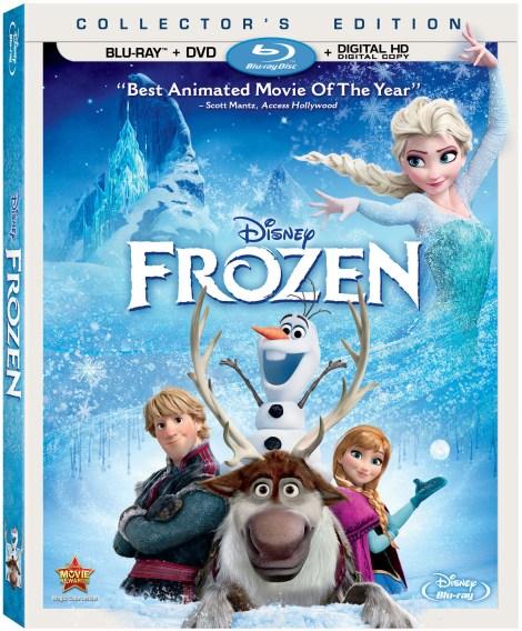 Disney's Frozen on Blu Ray