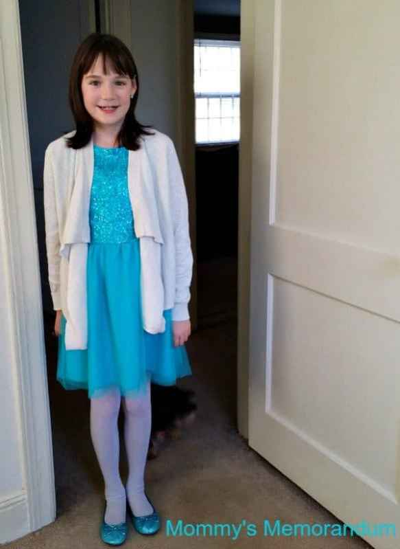 FabKids Sequin and Tulle with sweater