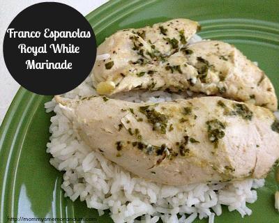 Franco Espanolas Royal White Marinade #Recipe