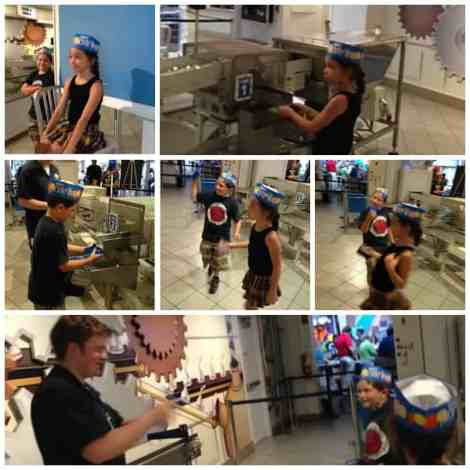 Hershey Factory Collage
