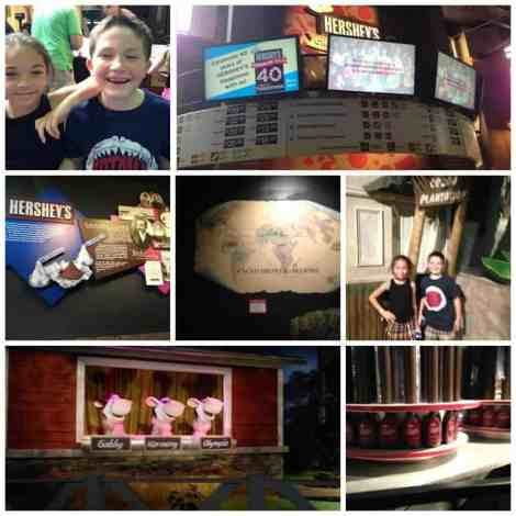 Hershey Tour Collage