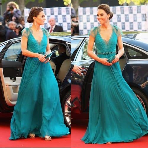 Kate Vintage Green Dress