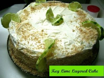 Key Lime Layered Cake Recipe