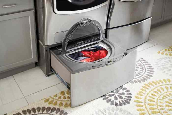 LG Front Load washer with sidekick