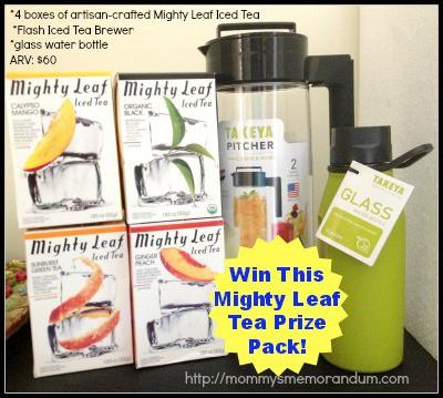 Mighty Leaf Tea Prize Pack
