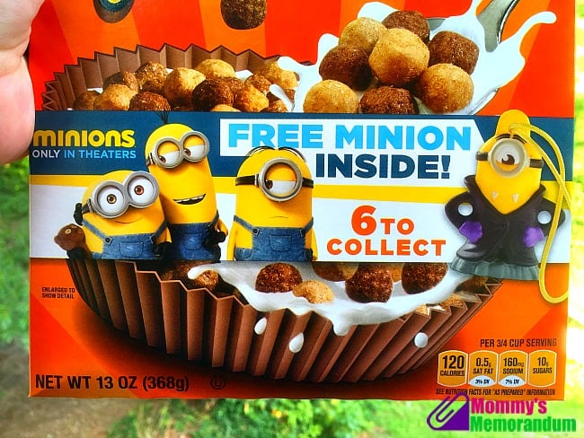 Minions on select GH Cereals