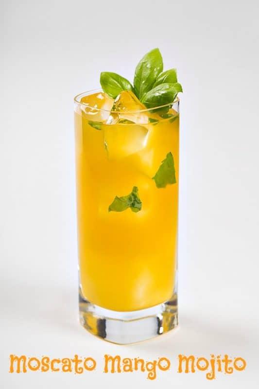 Moscato Mango Mojito #Recipe
