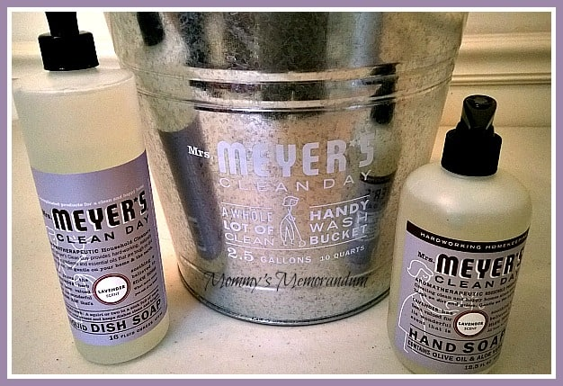 Mrs Meyers Clean Day #Review Mommy's memorandum