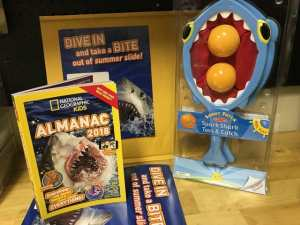 #Win Nat'l Geo Kids Almanac 2018 + Toss & Catch (US 7/15)