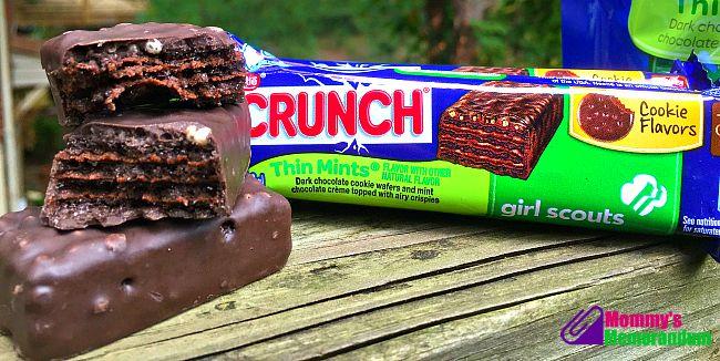 Nestlé Crunch Girl Scout Candy Bars thin mints