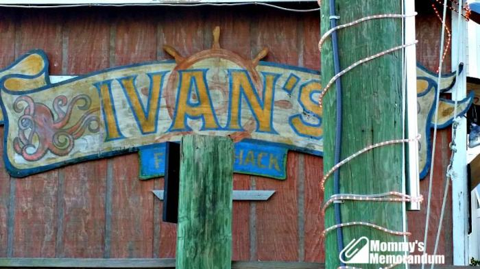 Old American Fish Co. Ivan's fish shack in safe haven