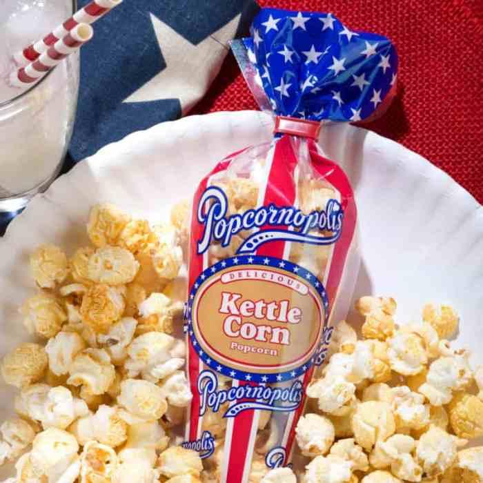 Popcornopolis Special Edition Patriotic Packaging