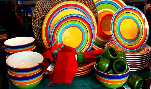 #Pier1OutdoorParty fiesta dishes