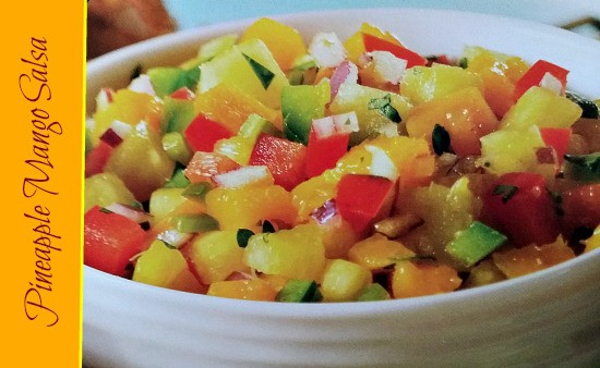 Pineapple Mango Salsa #Recipe