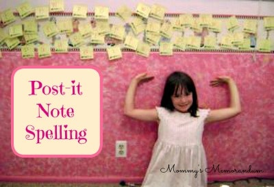 Post-It-notes-Spelling