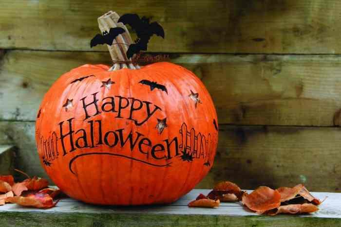 Pumpkin happy Halloween
