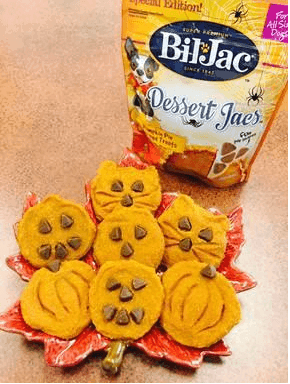 Howlin' Good Pumpkin Dessert Jacs Dog Cookies