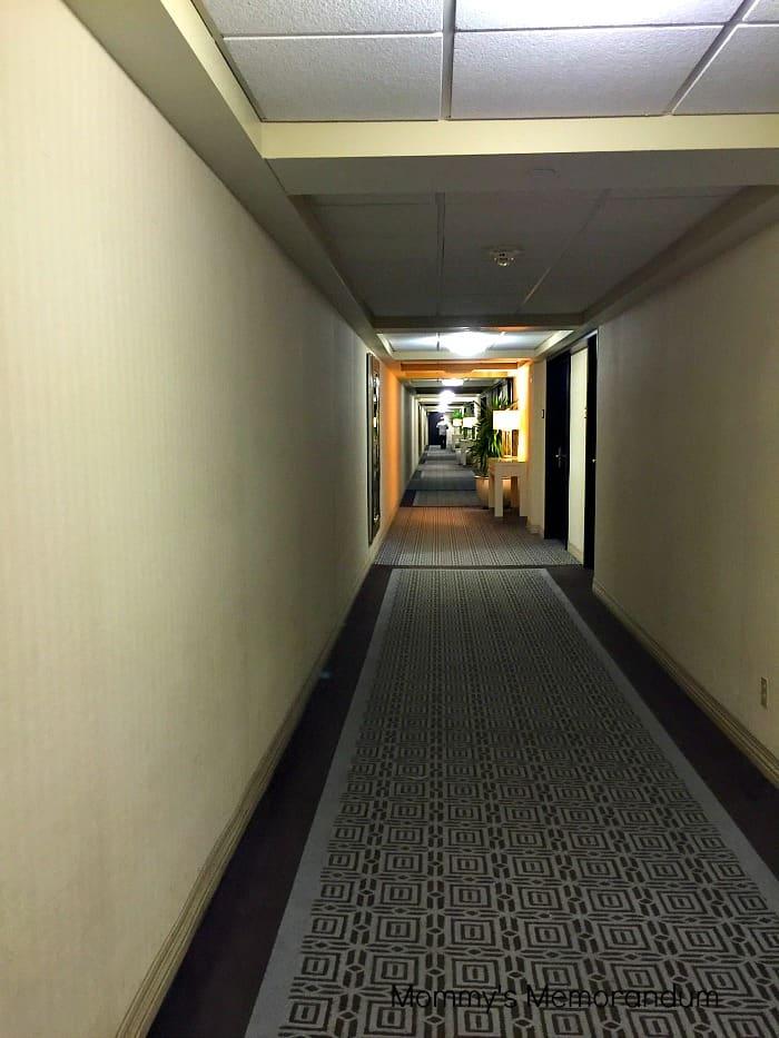 Sheraton Universal #sheratonuniverse hallway