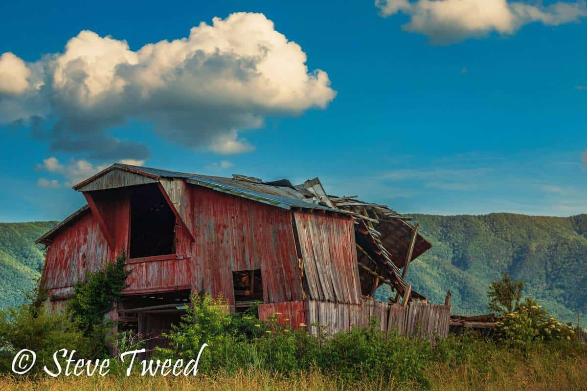 Steve Tweed old barn