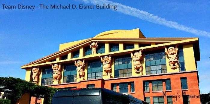 Team Disney-The Michael D. Eisner Building #McFarlandUSAEvent