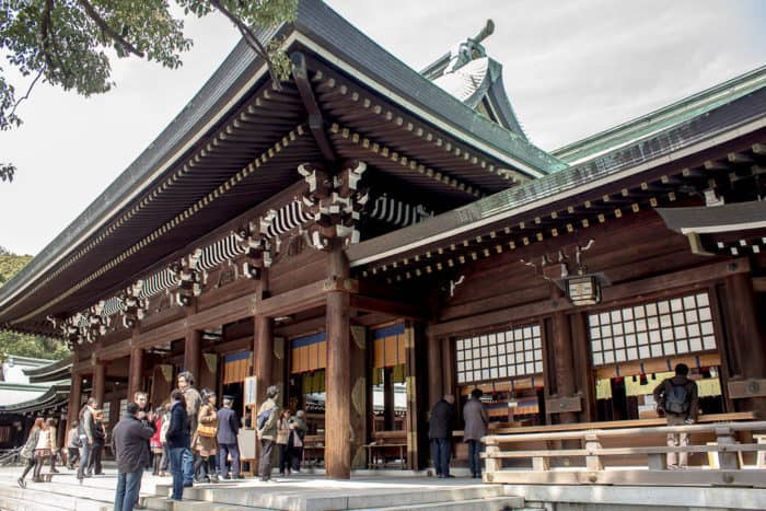 The Eight Amazing Places to Visit in Tokyo Japan meiji shrine