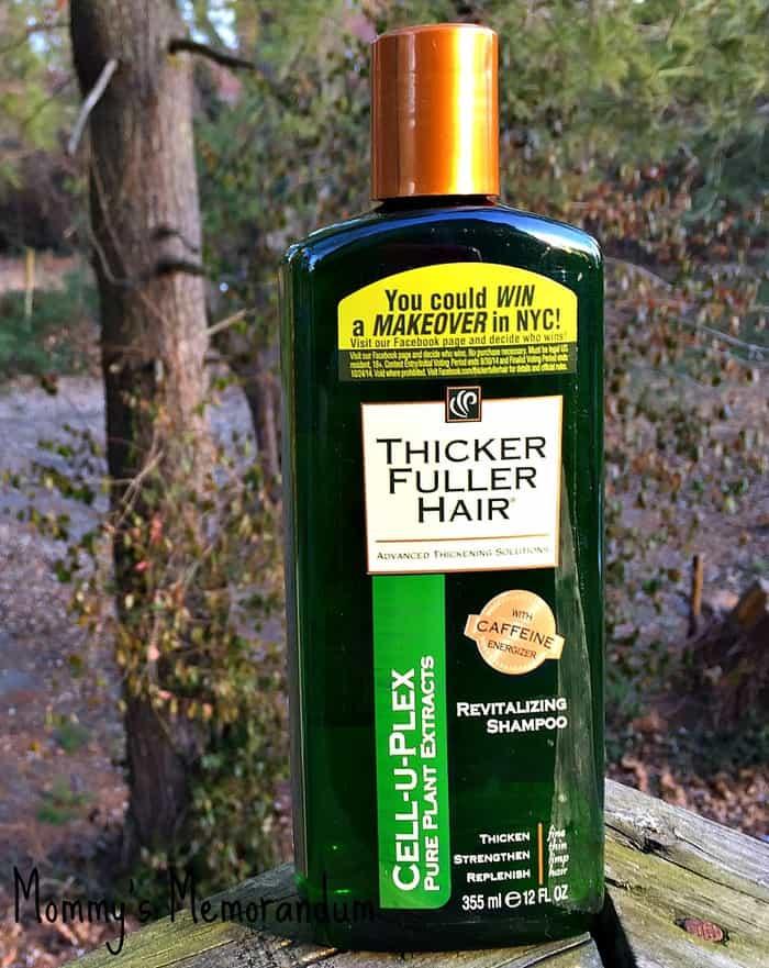 Thicker Fuller Hair shampoo