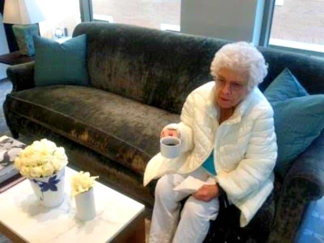 Tiffany and Co grandma at tiffany and co.