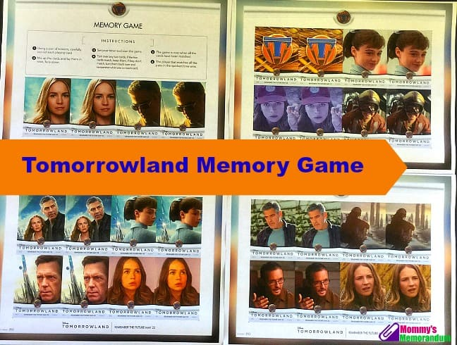 Tomorrowland Memory Game