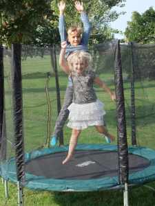 Keep Your Kids Busy with a Trampoline