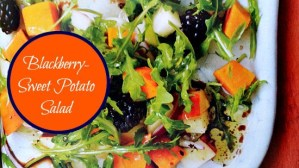 Weight Watchers Blackberry-Sweet Potato Salad #Recipe
