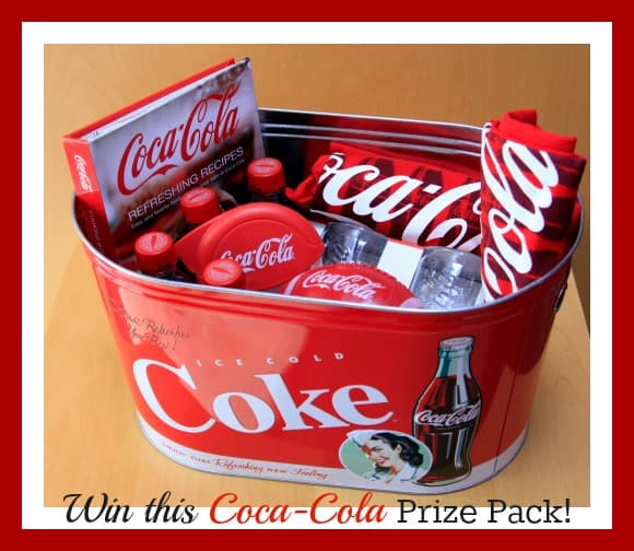 #Win this Coca-Cola Prize Pack #Giveaway