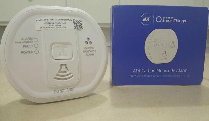 adt carbon monoxide alarm