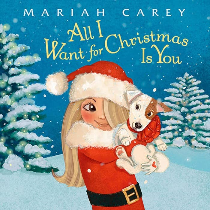 all i want for christmas is you mariah carey book